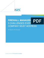 Firewall Management 5 Challenges Every Company Must Address WEB