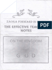 Kingdom of God Notes