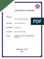 Informe Subestacion Chimbote Norte