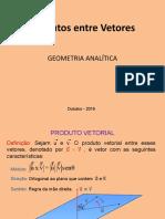 Produto Vetorial e Produto Misto.pptx