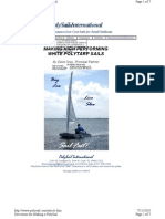 Constructing a Polytarp Sail