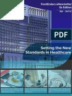 FrontEnders Healthcare Services eNewsletter Q1 Edition   April - June'17