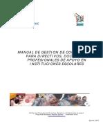 Manual de Gestión Por Competencias Para Directivos y Docentes