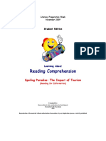 OSSLT - StED-Reading Comprehension