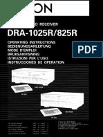 Denon Dra 1025r