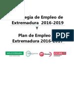 Estrategia y Plan Empleo 2016