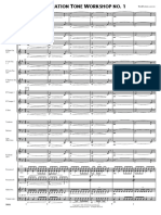 Affirmation Tone Workshop Score