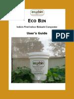 Ecobin User Guide
