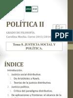 Política II. Tema 8. 2013-14