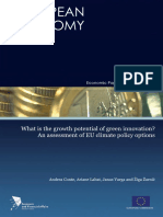 What is the growth potential of green innovation-EU-DSGE.pdf