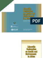 Libreville Declaration