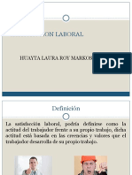 Satisfaccion Laboral Markos