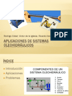 APLICACIONES DE SISTEMAS OLEOHIDRÁULICOS