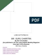 Sri Guru Charitha