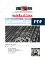 Hastelloy c22 Tube