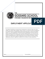 Goddard Employment Application