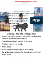 Disaster Management Govt PPT by JMV LPS LTD