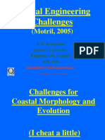 Coastal Engineering Challenges - Kamphuis