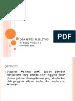PPT Diabetes Mellitus