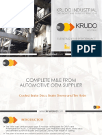 Complete Factory for Cooled Brake Discs, Brake Drums and Tire Hubs
