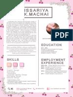 Resume Issariya K._2017_Work Experience