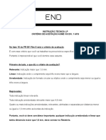 Instrução Técnica Lp Questões 1 e 2