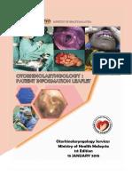 Kkm Otorhinolaryngology Patient Information Leaflet
