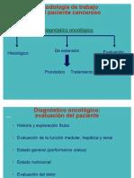 Metodologia de Trabajo en El Paciente Canceroso