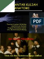 Pengantar Kuliah Anatomi