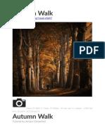 Autumn Walk Tutorial