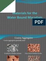 Materials of WBM (by K.igcalinos)