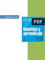 Capitulo 10 Genetica y Aprendizaje