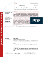 Journal of Research in Biology - Volume 2 Issue 3