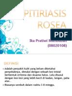 Pitiriasis Rosea Dan Psoriasis