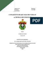 CHF NYHA IV Et Causa Mitral Regurgitasi