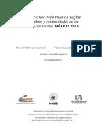 """""""Las elecciones para Gobernador en México, 2016"""