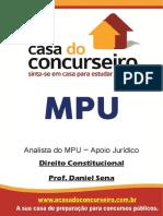 Apostila Mpu Analista Direito Constitucional Daniel Sena