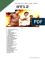 Kumpulan kunci gitar lagu ST12.pdf