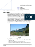 WSF Terminal Design Manual M 3082 Chapter 460 - Landscape Architecture
