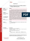 Journal of Research in Biology - Volume 2 Issue 8