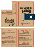 Whistle Pig Final Menu