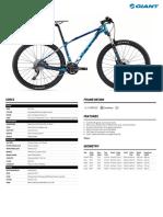 Giant Bicycles Bike 93350