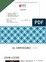 PPT- FILOSOFIA-EL EMPIRISMO