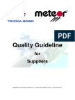 Quality Guideline for Supplier TGM 4th Edition QM-Enviroment-Energy 2015-02-20 En