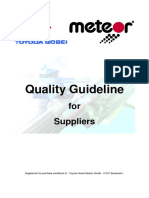 Quality Guideline for Supplier TGM 4th Edition QM-Enviroment-Energy 2015-02-20 En