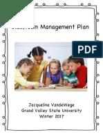 classroom management plan copy