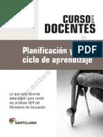 Planificacion y Ciclo de Aprendizaje