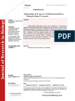 Journal of Research in Biology - Volume 4 Issue 7