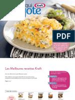 Kraft Cookbook FR 2016