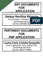 1 - Pertinent Documents1